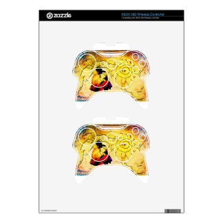 Africa retro vintage style gifts xbox 360 controller decal