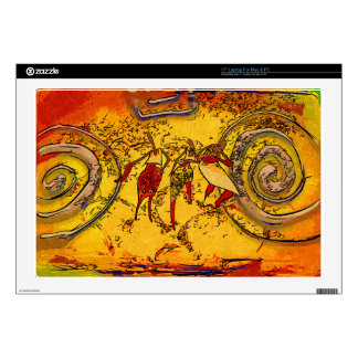 Africa retro vintage style gifts laptop decals