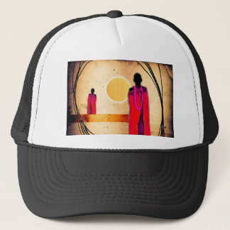 Africa retro vintage style gifts trucker hat