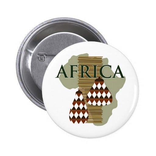 Africa - Rich In History 2 Inch Round Button