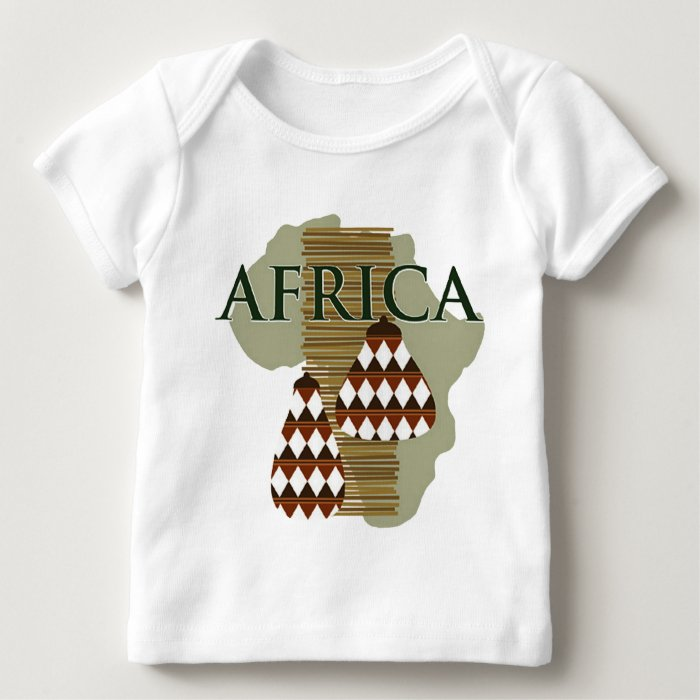 Africa - Rich In History Baby T-Shirt
