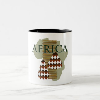 Africa - Rich In History Two-Tone Coffee Mug
