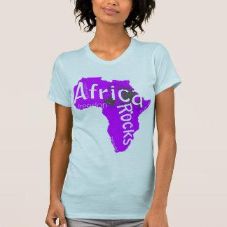 Africa Rocks womens tee