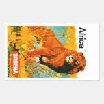 Africa ~ Sabena Stickers