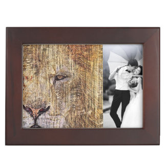 Africa safari animal wildlife majestic lion memory box
