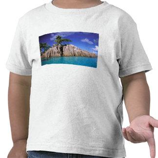 África, Seychelles, isla de Digue del La. Granito Camisetas
