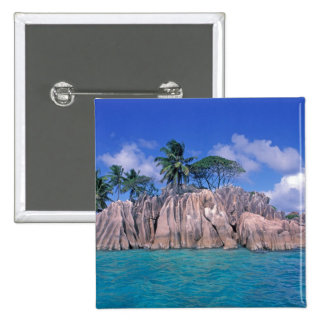 África, Seychelles, isla de Praslin, St Pierre Pin Cuadrado