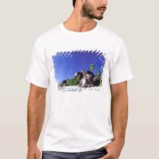 Africa, Seychelles, La Digue Island. Granite 3 T-Shirt