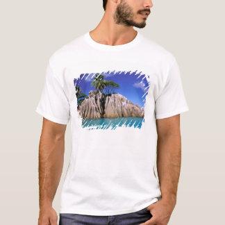 Africa, Seychelles, La Digue Island. Granite T-Shirt