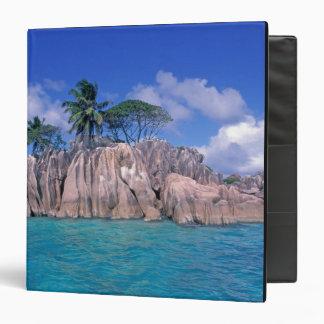 Africa, Seychelles, Praslin Island, St. Pierre 3 Ring Binders
