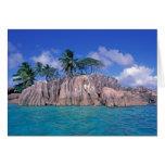 Africa, Seychelles, Praslin Island, St. Pierre Card