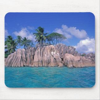 Africa, Seychelles, Praslin Island, St. Pierre Mouse Pad