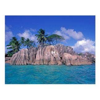 Africa, Seychelles, Praslin Island, St. Pierre Postcard