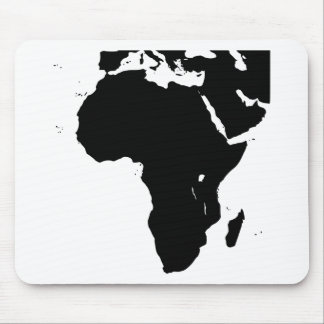 Africa Silhouette Mouse Pad