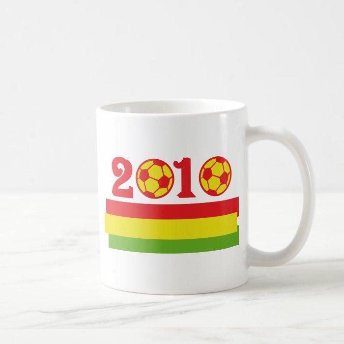 africa soccer 2010 coffee mug