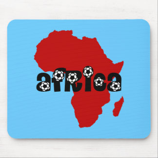 Africa soccer mouse pad