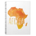 Africa Spiral Note Book