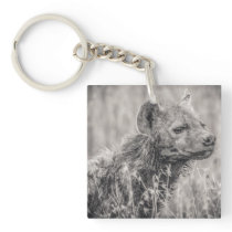 Africa Spotted Hyena Keychain