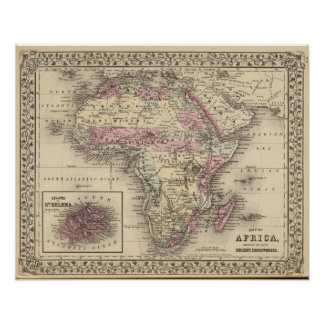 África St. Helena Posters