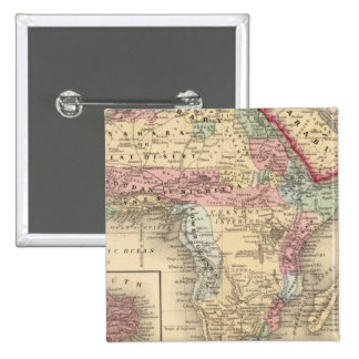 Africa St Helena Pinback Button