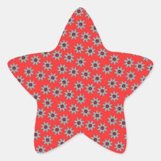 Africa Stars Modern Pattern Star Sticker
