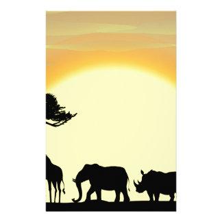 Africa Stationery