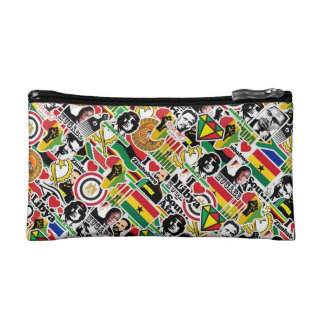 Africa Stickerbomb Makeup Bags