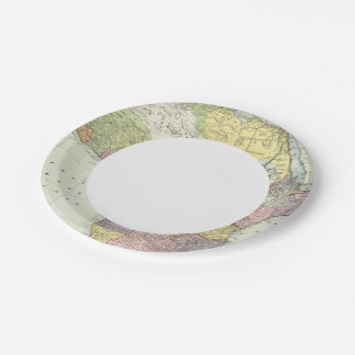Africa, Suez Canal 7 Inch Paper Plate