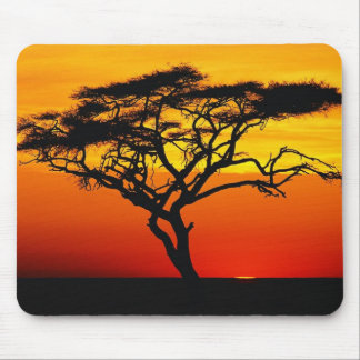 Africa Sunset Mouse Pad