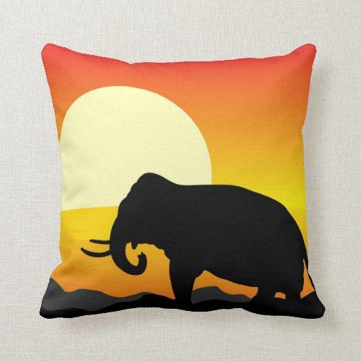 Africa Sunset Pillows