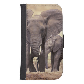 África, Tanzania, parque nacional de Tarangire. 2 Cartera Para Galaxy S4
