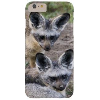 África. Tanzania. Zorros Palo-Espigados en Ndutu Funda De iPhone 6 Plus Barely There