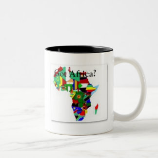 AFRICA TEACUP COFFEE MUGS