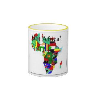 AFRICA TEACUP COFFEE MUG