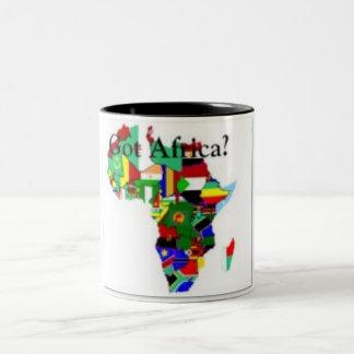 AFRICA TEACUP Two-Tone COFFEE MUG