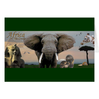 Africa, The Cradle Greeting Card