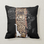 AFRICA THROW PILLOWS