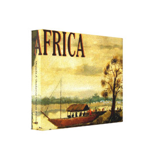 AFRICA TODAY, Mojisola A Gbadamosi Okubule Pain... Canvas Print