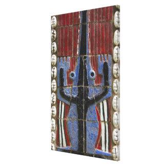 Africa, Togo, Kpalime. Artisan handicraft center Canvas Print