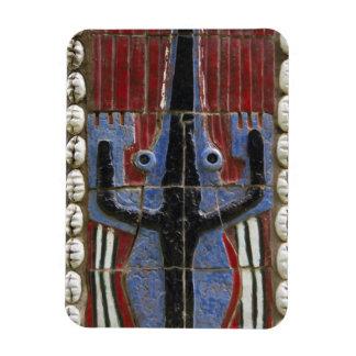 Africa, Togo, Kpalime. Artisan handicraft center Rectangular Photo Magnet