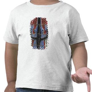 Africa, Togo, Kpalime. Artisan handicraft center T-shirts