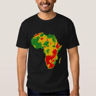 África topográfica playeras