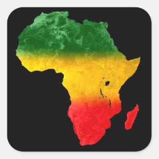 Africa Tricolor Sticker II