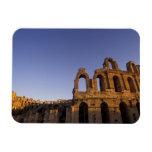 África, Túnez, EL Jem. Ruinas de 2 romanos Imanes De Vinilo