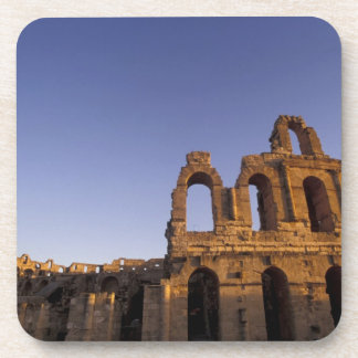 África, Túnez, EL Jem. Ruinas de 2 romanos Posavasos De Bebidas