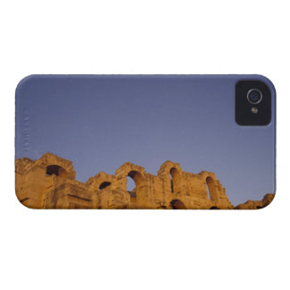 África, Túnez, EL Jem. Ruinas de un romano iPhone 4 Case-Mate Funda