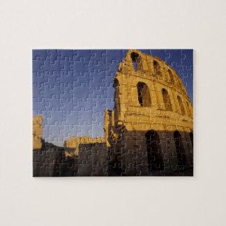 África, Túnez, EL Jem. Ruinas de un romano Rompecabeza Con Fotos