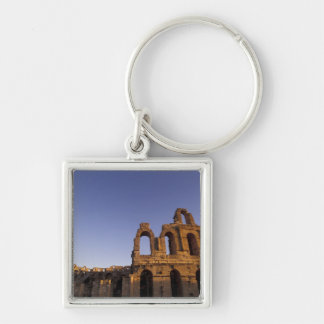 Africa, Tunisia, El Jem. Ruins of a Roman 2 Key Chain