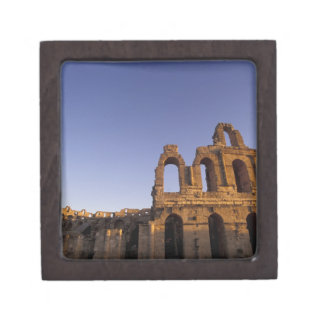 Africa, Tunisia, El Jem. Ruins of a Roman 2 Premium Trinket Boxes