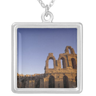 Africa, Tunisia, El Jem. Ruins of a Roman 2 Silver Plated Necklace